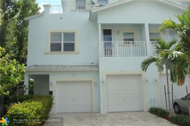 710 SW 9 Terrace #710, Fort Lauderdale, FL 33315 (MLS #F10123638) :: Green Realty Properties