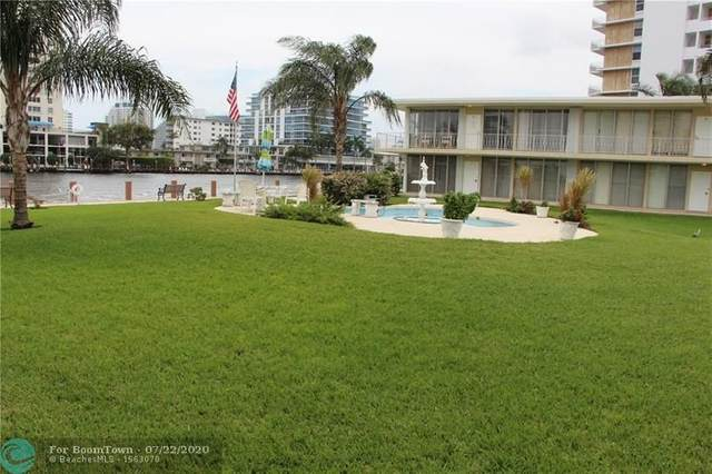900 Intracoastal Dr #22, Fort Lauderdale, FL 33304 (MLS #F10126773) :: Berkshire Hathaway HomeServices EWM Realty