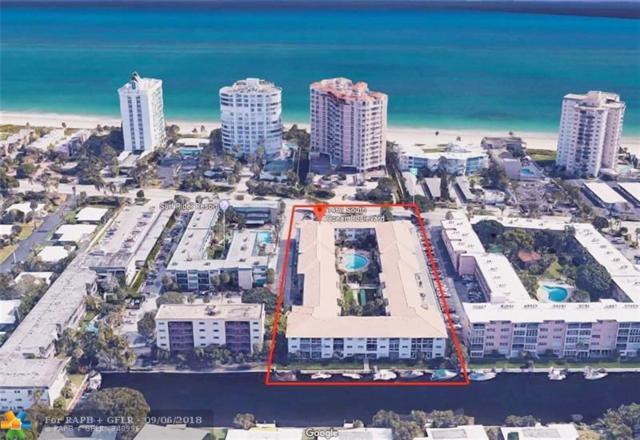 1461 S Ocean Blvd #127, Pompano Beach, FL 33062 (MLS #F10138347) :: Green Realty Properties