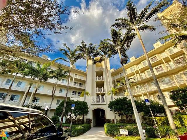 3500 Oaks Clubhouse Dr #405, Pompano Beach, FL 33069 (MLS #F10203940) :: The O'Flaherty Team