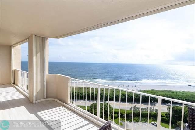 4301 N Ocean Boulevard #1706, Boca Raton, FL 33431 (#F10222489) :: Michael Kaufman Real Estate
