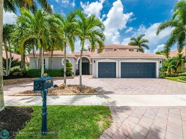 2453 Eagle Run Dr, Weston, FL 33327 (MLS #F10241728) :: Berkshire Hathaway HomeServices EWM Realty