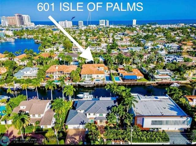 601 Isle Of Palms, Fort Lauderdale, FL 33301 (MLS #F10255593) :: The Howland Group