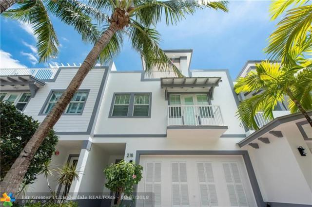 218 NE 15th Ave #218, Fort Lauderdale, FL 33301 (MLS #F10106733) :: Green Realty Properties
