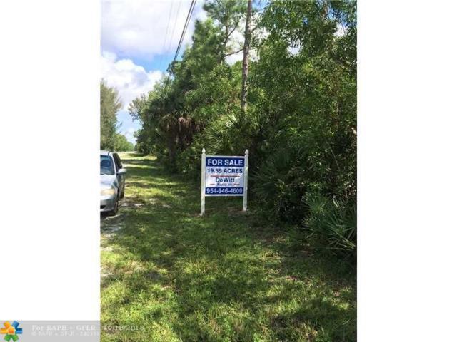 16400 Randolph Siding Rd, Jupiter, FL 33478 (MLS #F1358753) :: Green Realty Properties