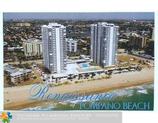 1370 S Ocean Blvd #2805, Pompano Beach, FL 33062 (MLS #F10023134) :: Green Realty Properties