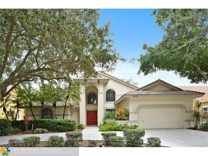 2133 Sea Pines Way, Coral Springs, FL 33071 (MLS #F10034995) :: United Realty Group