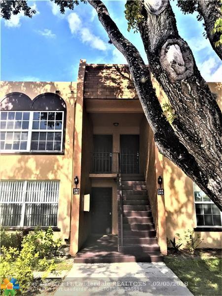 4230 NW 21 #242, Lauderhill, FL 33313 (MLS #F10107180) :: Green Realty Properties