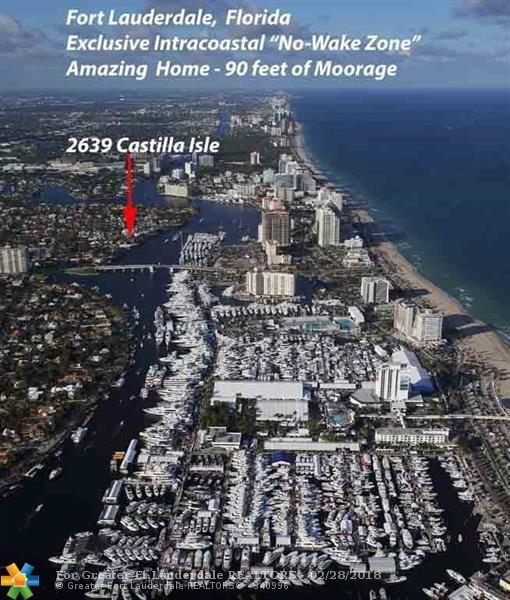 2639 Castilla Isle, Fort Lauderdale, FL 33301 (MLS #F10110664) :: Green Realty Properties