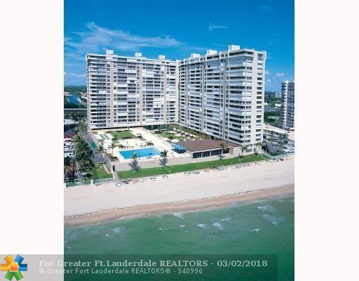 4300 N Ocean Blvd 10K, Fort Lauderdale, FL 33308 (MLS #F10111154) :: Green Realty Properties