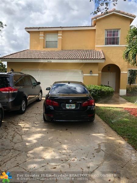 4426 NW 41st Pl, Coconut Creek, FL 33073 (MLS #F10112641) :: Green Realty Properties