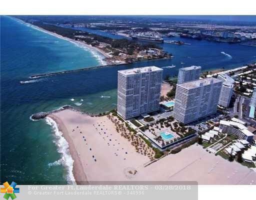 2100 S Ocean Ln #703, Fort Lauderdale, FL 33316 (MLS #F10115301) :: Green Realty Properties