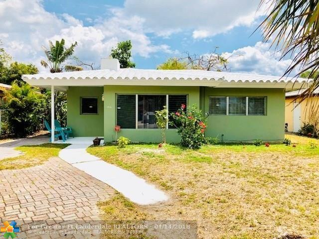 1436 NW 7th Ave, Fort Lauderdale, FL 33311 (MLS #F10116864) :: Green Realty Properties
