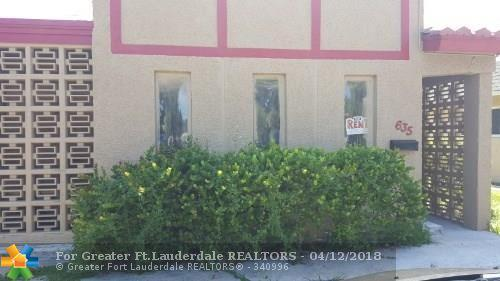 635 NW 22nd Rd, Fort Lauderdale, FL 33311 (MLS #F10117751) :: Green Realty Properties