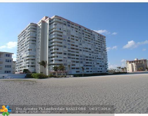 1012 N Ocean Blvd #212, Pompano Beach, FL 33062 (MLS #F10119612) :: Green Realty Properties