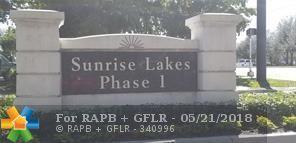 8000 Sunrise Lakes Dr #212, Sunrise, FL 33322 (MLS #F10121949) :: Laurie Finkelstein Reader Team