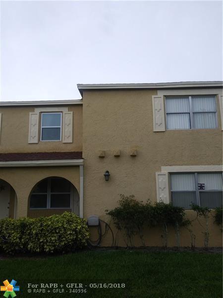 10729 La Placida Dr 3-6, Coral Springs, FL 33065 (MLS #F10123082) :: Green Realty Properties