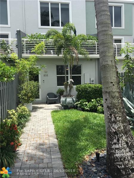 808 NE 28th St #5, Wilton Manors, FL 33334 (MLS #F10123285) :: Green Realty Properties