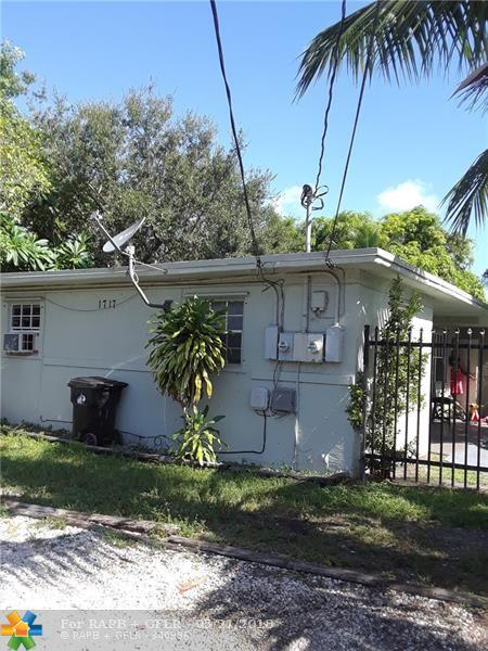 1717 NW 8th Pl, Fort Lauderdale, FL 33311 (MLS #F10123943) :: Green Realty Properties
