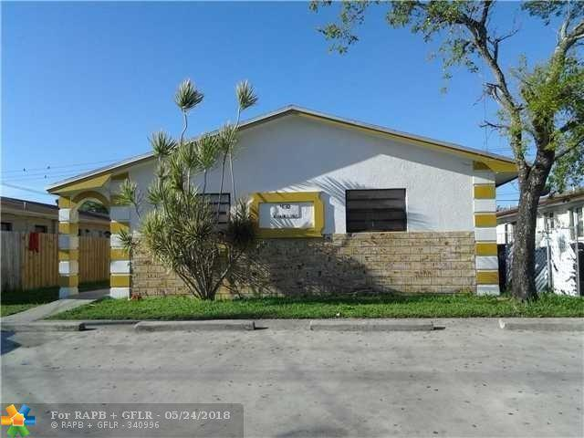 4130 SW 19th St, West Park, FL 33023 (MLS #F10124346) :: Green Realty Properties