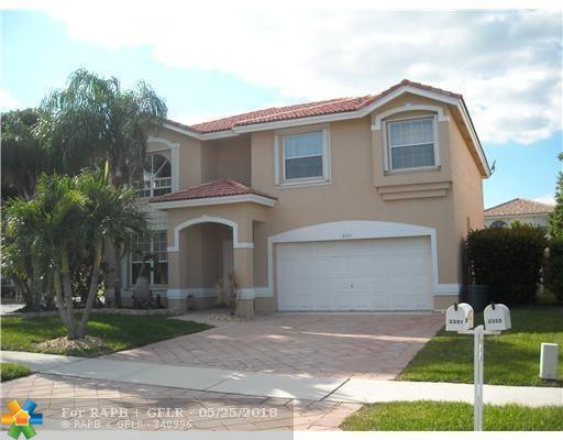2351 NW 138TH DR, Sunrise, FL 33323 (MLS #F10124613) :: Green Realty Properties