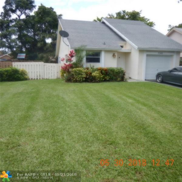 7302 NW 39th St, Coral Springs, FL 33065 (MLS #F10125226) :: Green Realty Properties