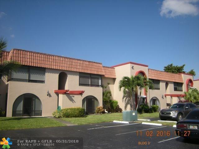 3781 NW 84th Ave 2C, Sunrise, FL 33351 (MLS #F10125264) :: Green Realty Properties