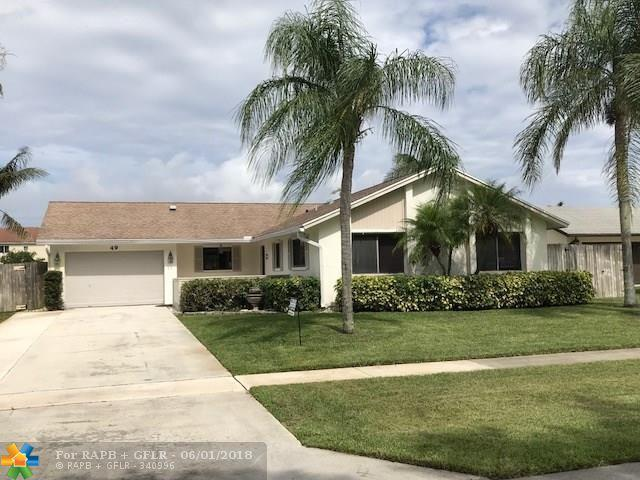 49 Vista Del Rio, Boynton Beach, FL 33426 (MLS #F10125374) :: Green Realty Properties