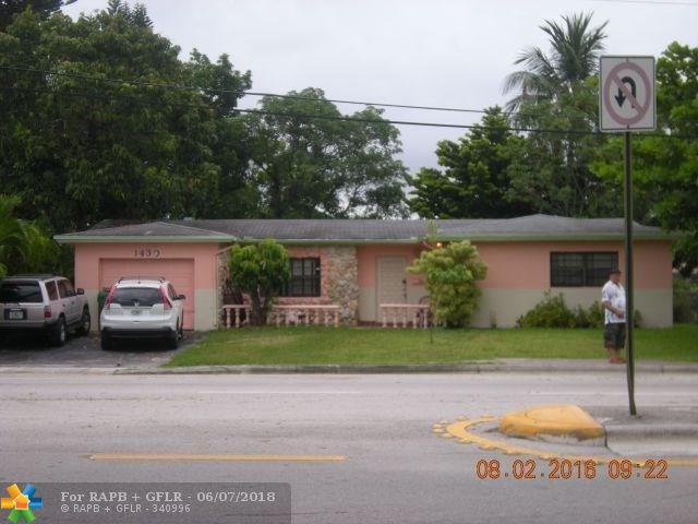1430 NW 56th Ave, Lauderhill, FL 33313 (MLS #F10126454) :: Green Realty Properties