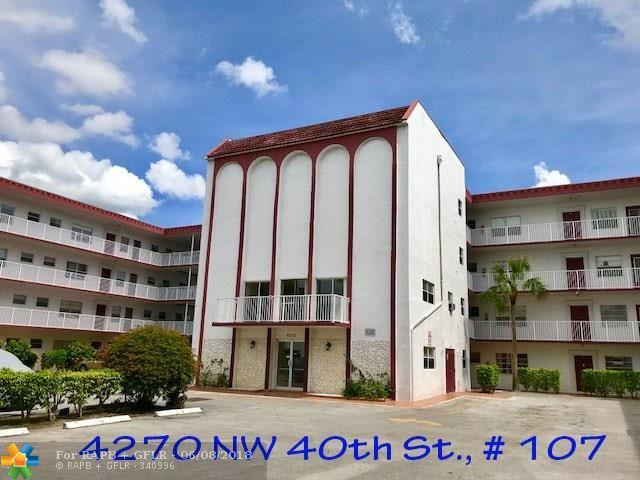4270 NW 40th St #107, Lauderdale Lakes, FL 33319 (MLS #F10126520) :: Green Realty Properties
