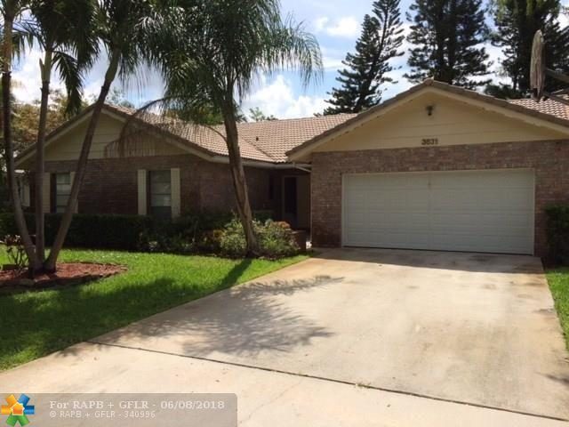 3831 NW 72nd Dr, Coral Springs, FL 33065 (MLS #F10126618) :: Green Realty Properties