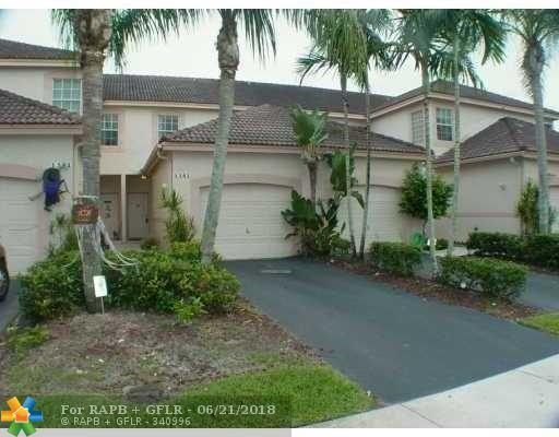 1341 Sorrento Dr #1341, Weston, FL 33326 (MLS #F10128639) :: Green Realty Properties