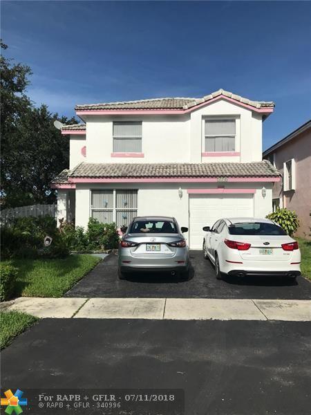 5190 NW 87th Ter, Lauderhill, FL 33351 (MLS #F10131329) :: Green Realty Properties
