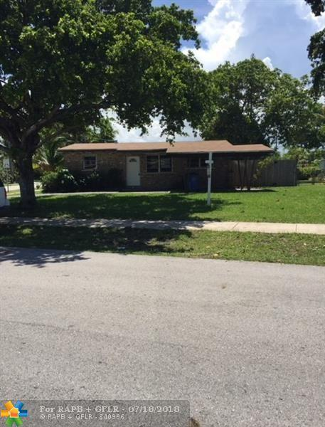 4271 NW 10th Ter, Oakland Park, FL 33309 (MLS #F10132553) :: Green Realty Properties