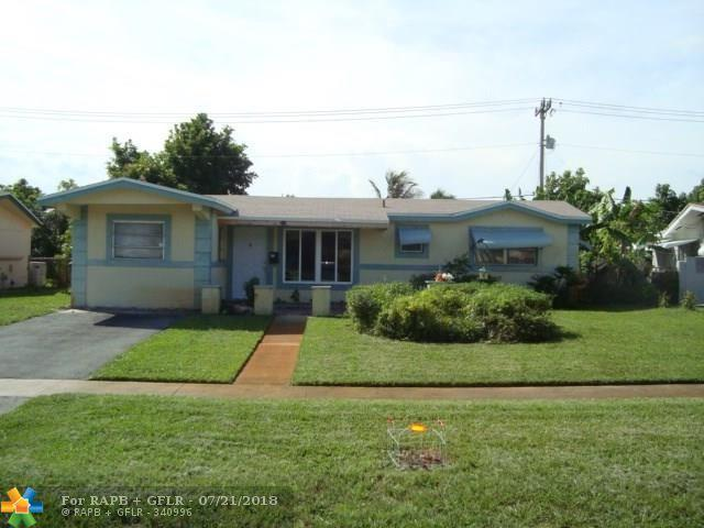 3601 NW 34th St, Lauderdale Lakes, FL 33309 (MLS #F10133080) :: Green Realty Properties