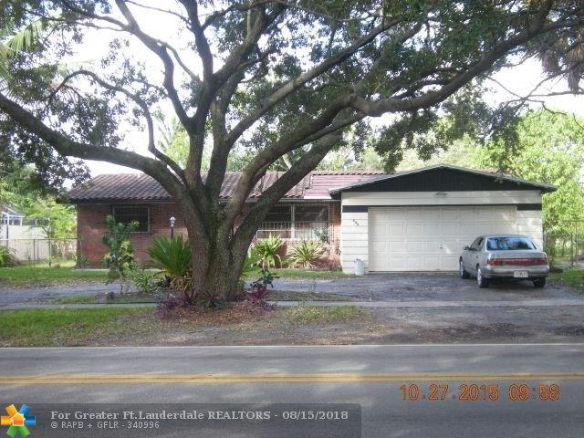 545 NW 46th Ave, Plantation, FL 33317 (MLS #F10134242) :: Green Realty Properties