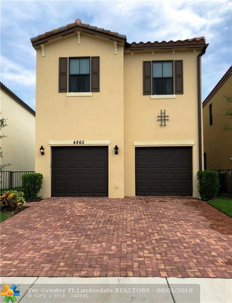 4865 NW 55th Place, Tamarac, FL 33319 (MLS #F10134360) :: Green Realty Properties