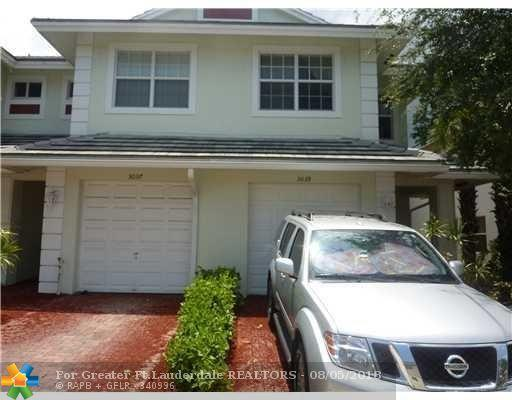3039 NW 30th Ave #3039, Oakland Park, FL 33311 (MLS #F10135231) :: Green Realty Properties