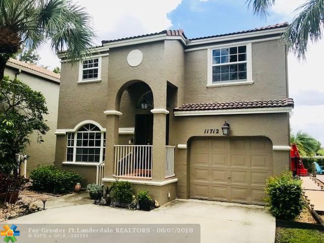 11712 SW 1st St, Coral Springs, FL 33071 (MLS #F10135427) :: Green Realty Properties