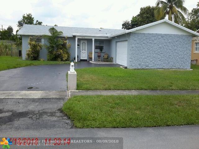 4370 NW 12th Ct, Lauderhill, FL 33313 (MLS #F10135878) :: Green Realty Properties