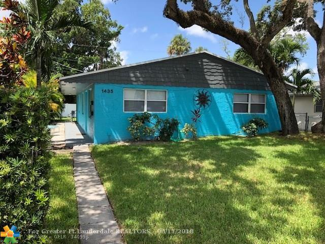 1435 SW 24th Ct, Fort Lauderdale, FL 33315 (MLS #F10136112) :: Green Realty Properties