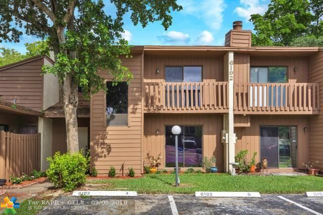 6192 Laurel Ln B, Tamarac, FL 33319 (MLS #F10136683) :: Green Realty Properties