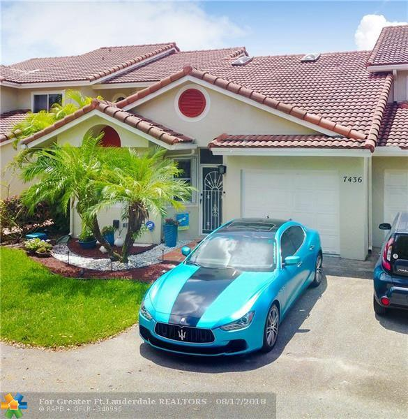 7436 Pinewalk Dr, Margate, FL 33063 (MLS #F10136993) :: Green Realty Properties