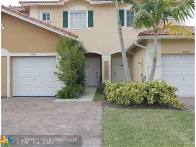 6533 Catalina Ln #6533, Tamarac, FL 33321 (MLS #F10138449) :: Green Realty Properties