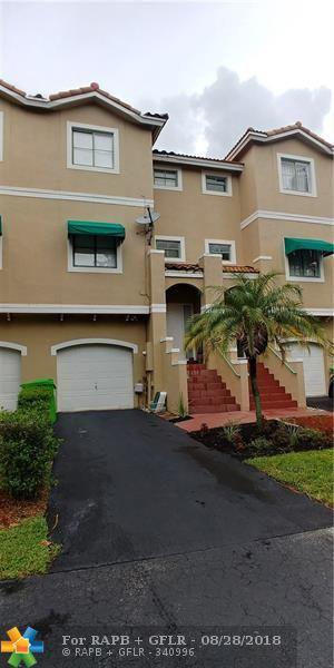 1317 NW 126th Ave #1317, Sunrise, FL 33323 (MLS #F10138626) :: Green Realty Properties