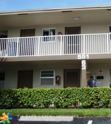 551 NW 80th Ter #104, Margate, FL 33063 (MLS #F10138684) :: Green Realty Properties