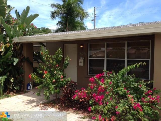 1620 NE 35th St, Pompano Beach, FL 33064 (MLS #F10140025) :: Green Realty Properties