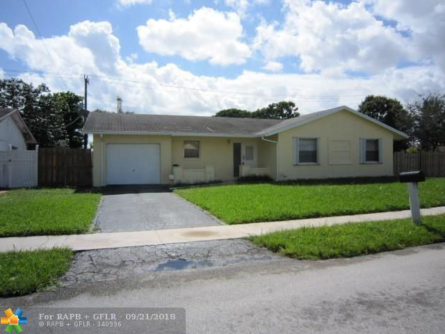 8360 NW 45th St, Lauderhill, FL 33351 (MLS #F10142152) :: Green Realty Properties
