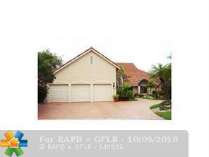 8655 Banyan Way, Tamarac, FL 33321 (MLS #F10144749) :: Green Realty Properties