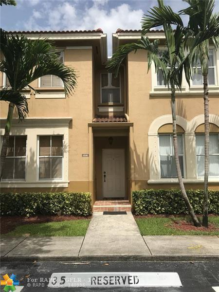 4146 SW 158th Ave #35, Miramar, FL 33027 (MLS #F10146109) :: Green Realty Properties